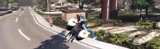 ヤギになって暴れ回るゲーム『Goat Simulator』がカオス