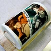 『進撃の巨人』エレン生誕祭用バースデーケーキ