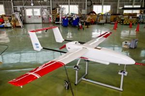 放射線モニタリング無人機システム