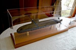 そうりゅう型潜水艦模型