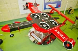 リフトファン式VTOL2m級試験機