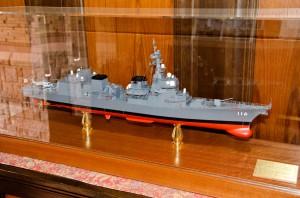 護衛艦てるづき模型