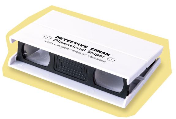コナンプロテクトトートオリジナルデザインの双眼鏡