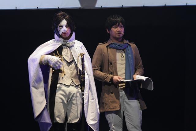(左から)LiveAct:北村諒/LiveVoice:中村悠一