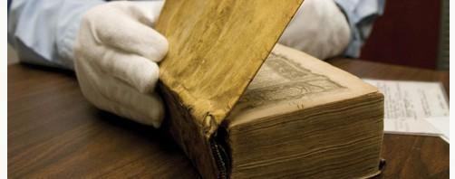 ハーバード大図書館の人間の皮膚を使用した『人皮装丁本』