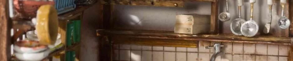 完成度高すぎ!ペットボトルの中に再現された1/48サイズ台所が凄い