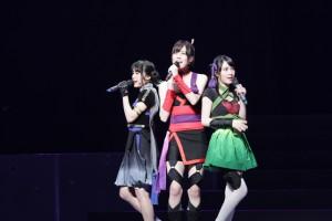 (左から)高橋紗妃/奈波果林/梅村結衣