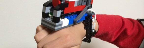 子供がレゴで作ったトッキュウジャー変身ブレスが完成度高すぎな件