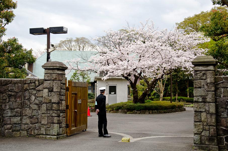 分庁舎正門