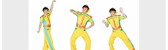 おかあさんといっしょ「ぱわわぷたいそう」終了→よしおにいさん「ブンバ・ボーン!」で祝10周年!