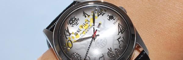 「死の外科医」トラファルガー・ローの魅力を詰め込んだ、高級腕時計登場