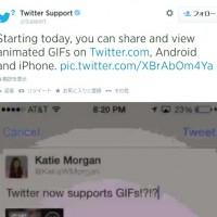 Twitter、GIFアニメに対応 iPhone / Androidからも利用可能