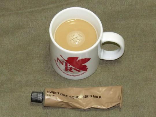 コーヒー&コンデンスミルク