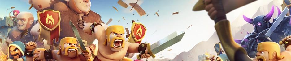 世界135カ国以上でNo.1の戦略ゲーム『クラッシュ・オブ・クラン』日本攻撃開始!