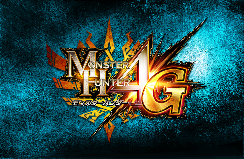 『モンスターハンター4G』ロゴ