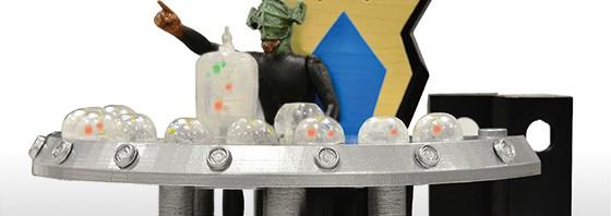 ウルトラシリーズを代表する司令官達が立体化