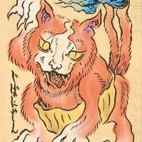 仮面凸子さん(@Computerozi)さんが描くジバニャン