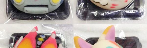 ベテラン和菓子職人の本気―余った材料で「キャラ和菓子」作ってみた