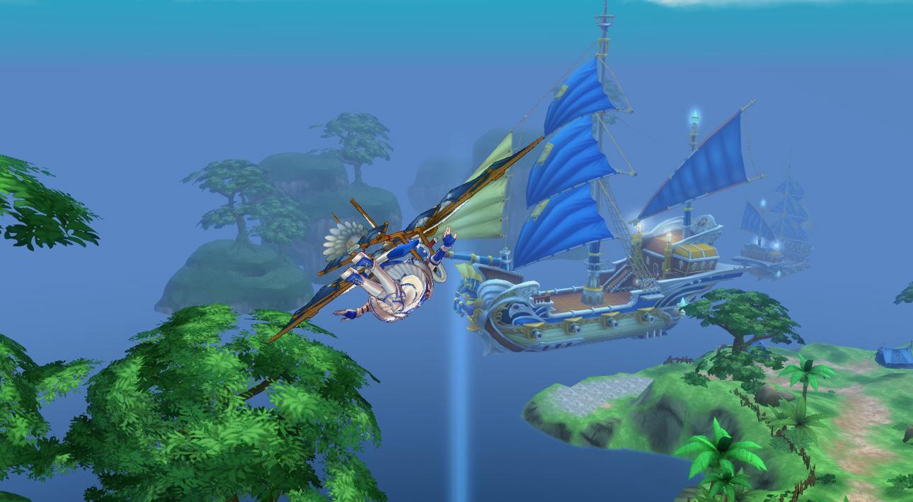 『Sky・Lore(スカイ・ロア)』ゲーム内SS