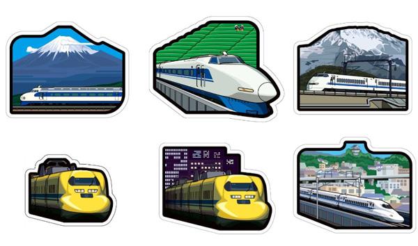 東海道新幹線フォルムカードセット
