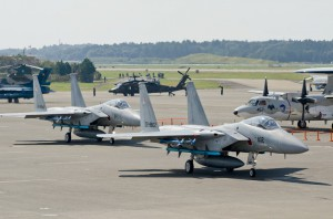 第304飛行隊F-15Jの地上滑走