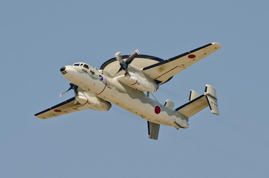 第601飛行隊のE-2C