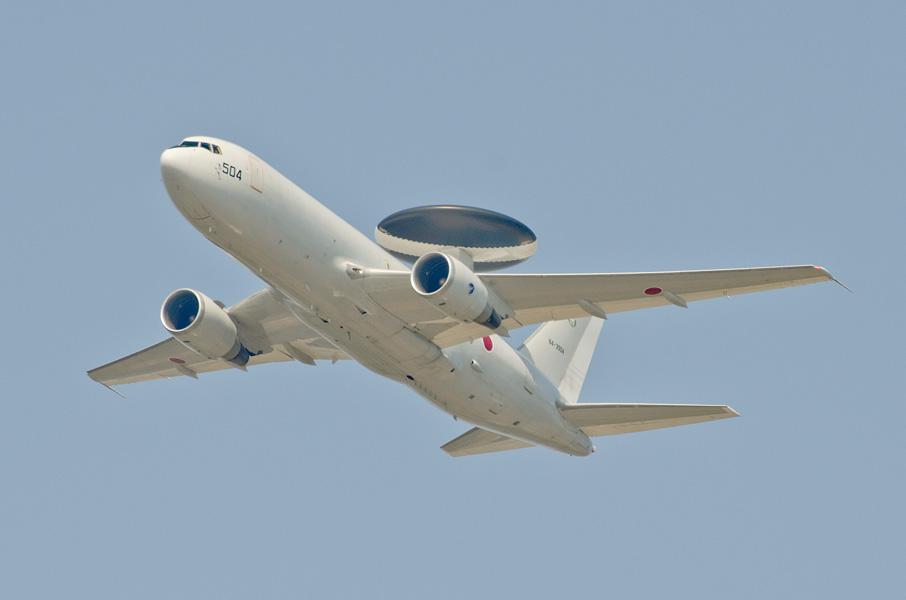 第602飛行隊のE-767