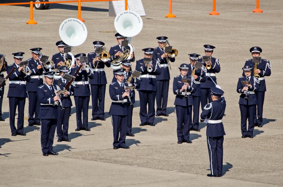 航空自衛隊航空中央音楽隊の演奏