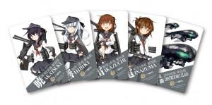 各種カード用オリジナルステッカー(TS 一号作戦)