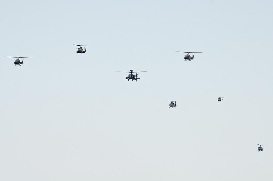 陸上自衛隊のヘリコプター部隊