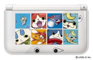 『妖怪ウォッチ ハードカバー for ニンテンドー3DS LL』(1380円税別)