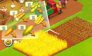 畑の空いているところをタップすると種が表示される