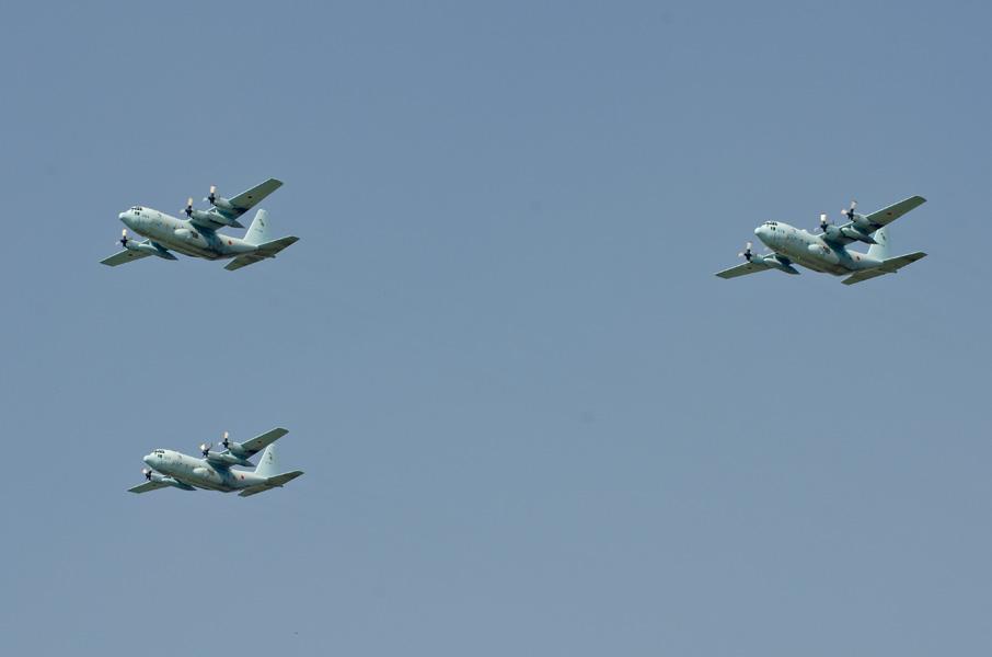 第401飛行隊のC-130H