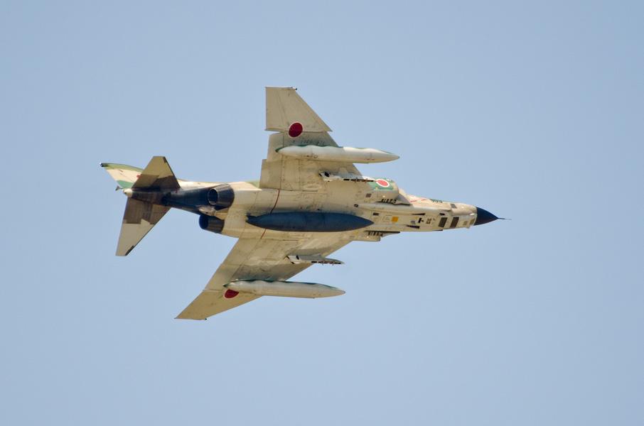 第501飛行隊RF-4Eの写真偵察展示
