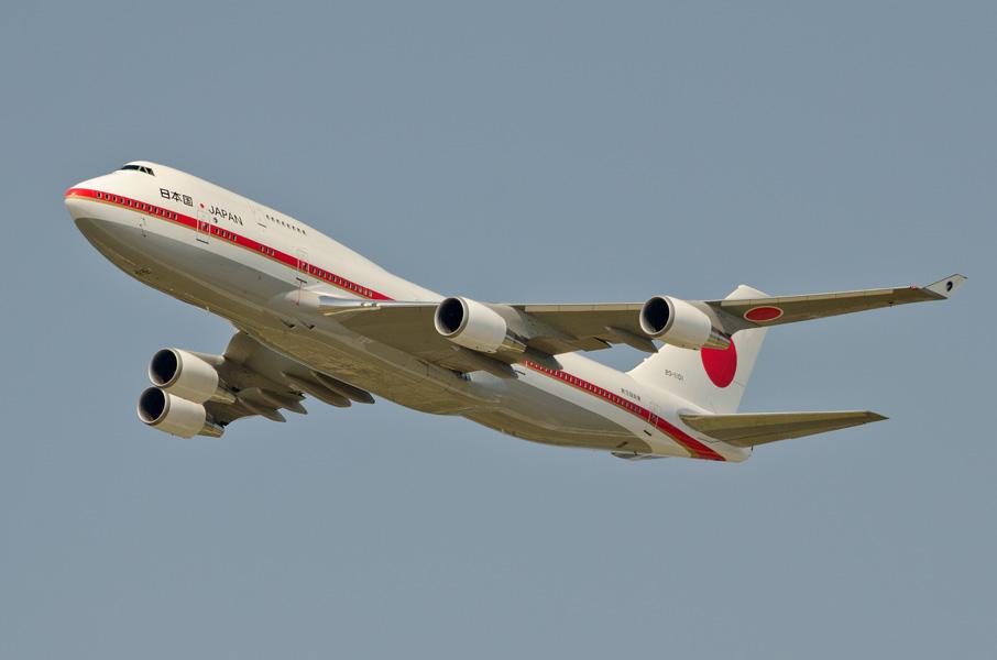 第701飛行隊のB-747