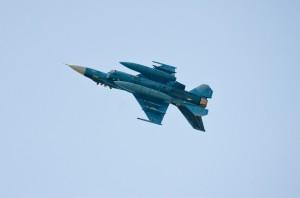第3飛行隊F-2Aの対地攻撃展示