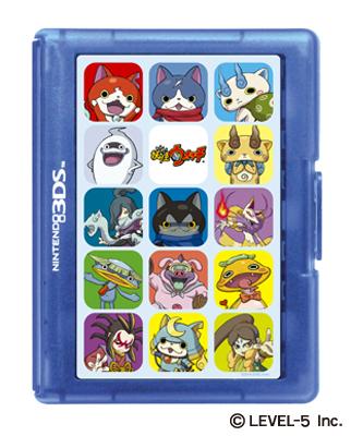 『妖怪ウォッチ カードケース12 for ニンテンドー3DS』(980円税別)