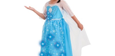 胸元からレリゴ~鳴り響く『アナ雪』エルサドレス