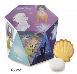 『アナと雪の女王 アソートボックス(2種8個入)』(648円税込)