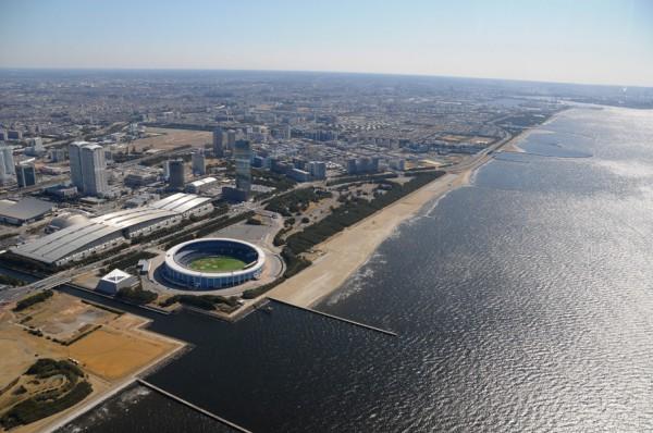 会場となる幕張海浜公園(Red Bull Japan提供)