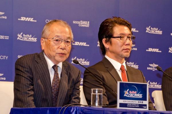 エクゼクティブプロデューサー・安藝氏(右)とシニアプロデューサー・坂本氏(左)