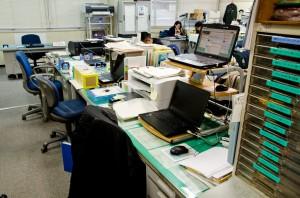 地本のオフィス