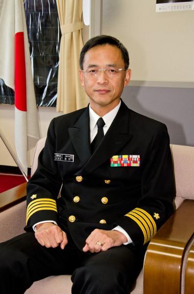 第30代本部長・前田丈典1等海佐