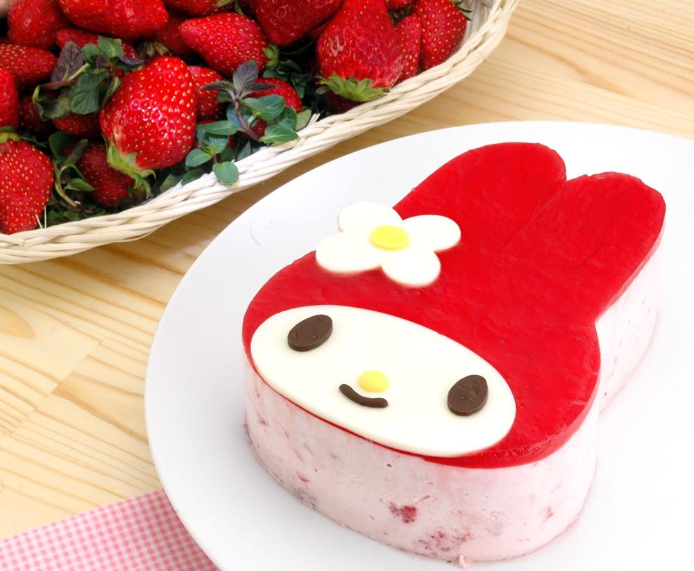 食べるのが勿体ない!キティちゃん、マイメロのケーキが超絶かわいい