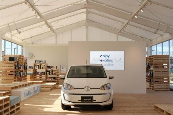 e-mobility station@湘南T-SITE