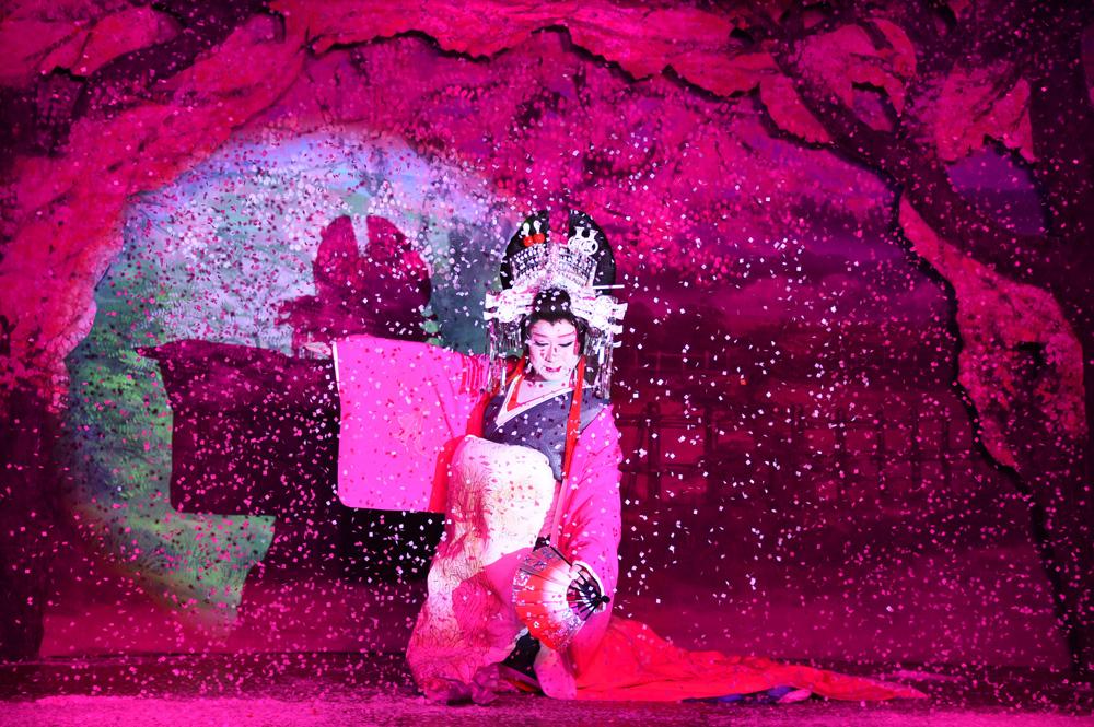 【大衆演劇を観に行こう!】劇団颯のまさき座長に『千本桜』(歌:小林幸子)で舞っていただいた