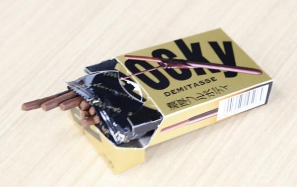 グリコの新商品『ポッキー〈デミタス〉』