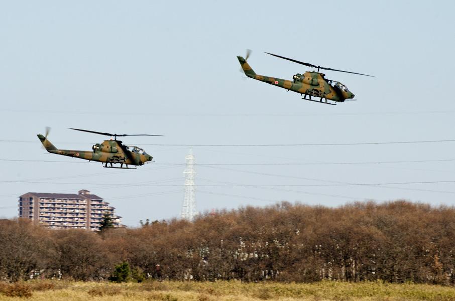 第4対戦車ヘリコプター隊第1飛行隊のAH-1S