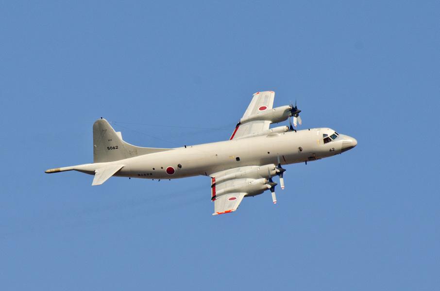海上自衛隊第203教育航空隊のP-3C