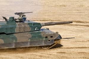第1戦車大隊の10式戦車